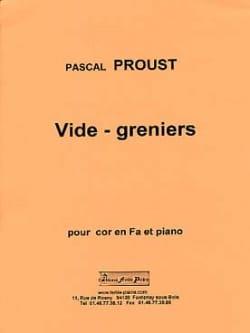 Pascal Proust - Vide-greniers - Partition - di-arezzo.fr
