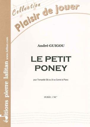 Le Petit Poney André Guigou Partition Trompette - laflutedepan