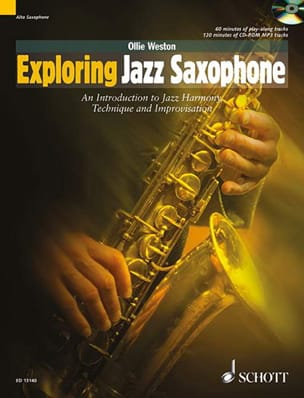 Exploring Jazz Saxophone - Ollie Weston - Partition - laflutedepan.com