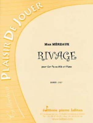 Rivage - Max Méreaux - Partition - Cor - laflutedepan.com
