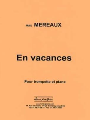 En Vacances Max Méreaux Partition Trompette - laflutedepan
