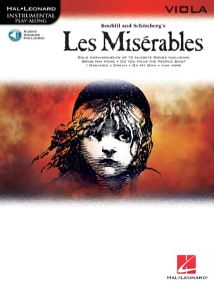 Les Misérables Play Along Pack Claude-Michel Schönberg laflutedepan