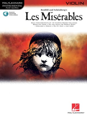 Claude-Michel Schönberg - Les Misérables Play Along Pack - Partition - di-arezzo.ch