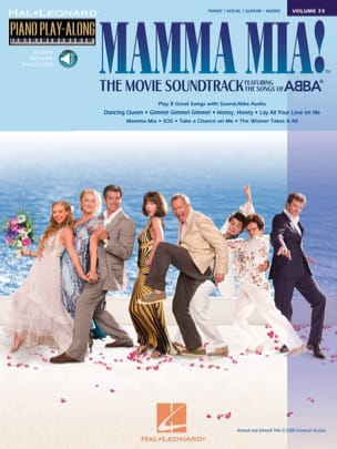ABBA - Piano Play-Along Volume 73 - Mamma Mia ! The Movie - Partition - di-arezzo.fr
