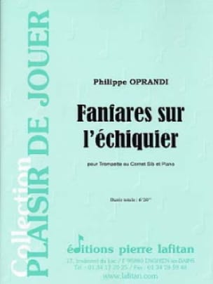 Philippe Oprandi - Fanfaren auf dem Schachbrett - Noten - di-arezzo.de