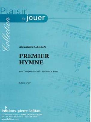 Alexandre Carlin - Premier hymne - Partition - di-arezzo.fr