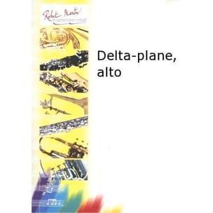 Delta-Plane Francis Coiteux Partition Saxophone - laflutedepan