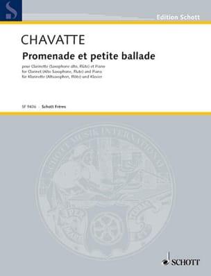 Guy Chavatte - Caminata y pequeña balada - Partitura - di-arezzo.es