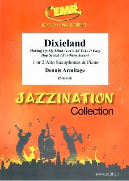 Jazzination Volume 2 Dixieland - Dennis Armitage - laflutedepan.com