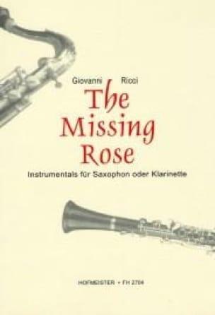 The Missing Rose - Giovanni Ricci - Partition - laflutedepan.com