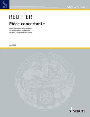 Pièce Concertante - Hermann Reutter - Partition - laflutedepan.com
