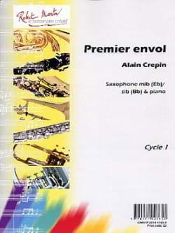 Alain Crepin - Primer vuelo - Partitura - di-arezzo.es