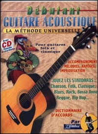 Jean-Jacques Rébillard - Débutant guitare acoustique - Sheet Music - di-arezzo.co.uk