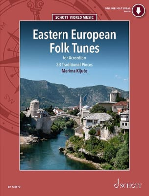 Merima Kljuco - Eastern European Folk Tunes - Sheet Music - di-arezzo.co.uk