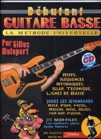 Malapert Gilles / Rébillard Jean-Jacques - Débutant guitare basse - Partition - di-arezzo.fr