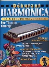 Hammje Thomas / Rébillard Jean-Jacques - Débutant harmonica - Partition - di-arezzo.fr
