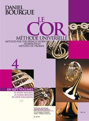 Daniel Bourgue - The Cor Universal Method Volumen 4 - Partitura - di-arezzo.es