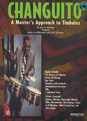 José Luis Quintana - Changuito, A Master's Approach To Timbales - Partition - di-arezzo.fr