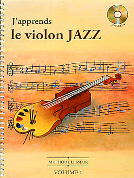 J' Apprends le Violon Jazz Volume 1 - laflutedepan.com