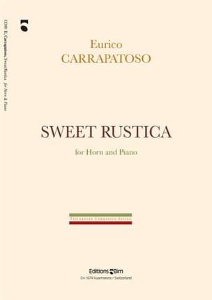 Sweet Rustica. Cor - Enrico Carrapatoso - Partition - laflutedepan.com