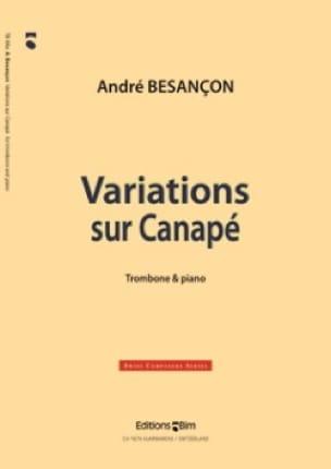 Variations Sur Canapé André Besançon Partition Trombone - laflutedepan