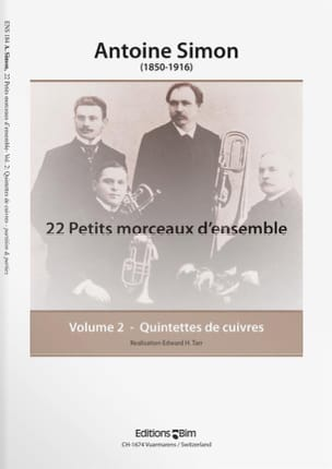 Antoine Simon - 22 Small Pieces of Set Volume 2 - Sheet Music - di-arezzo.com