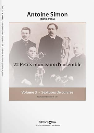 Antoine Simon - 22 Small Pieces of Set Volume 3 - Sheet Music - di-arezzo.com
