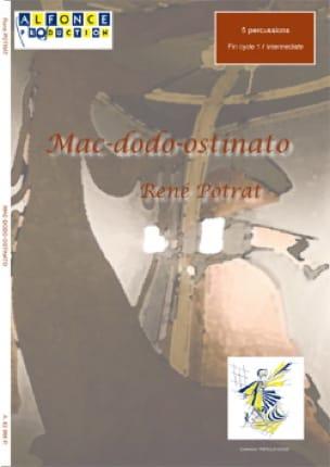 Mac-Dodo-Ostinato - René Potrat - Partition - laflutedepan.com
