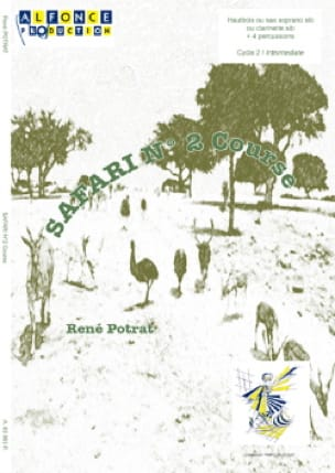 Safari N° 2 Course - René Potrat - Partition - laflutedepan.com