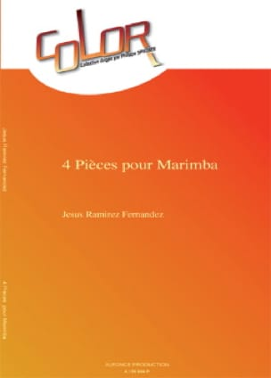Fernandez Jesus Ramirez - 4 Pièces Pour Marimba - Partition - di-arezzo.fr