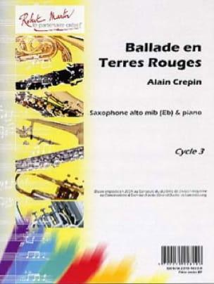 Ballade en terres rouges Alain Crepin Partition laflutedepan