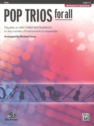 Pop trios for all - Revised & Updated Partition Alto - laflutedepan