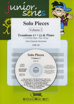 Solo Pieces Volume 2 John Glenesk Mortimer Partition laflutedepan