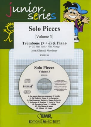Solo Pieces Volume 3 John Glenesk Mortimer Partition laflutedepan