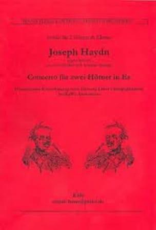 Concerto Für Zwei Hörner In Es HAYDN Partition Cor - laflutedepan