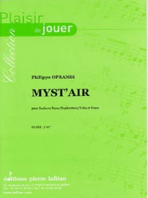 Myst' Air Philippe Oprandi Partition Tuba - laflutedepan