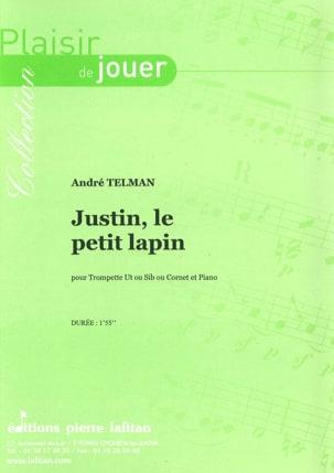 Justin le Petit Lapin - André Telman - Partition - laflutedepan.com
