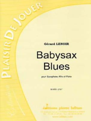 Babysax Blues - Gérard Lenoir - Partition - laflutedepan.com