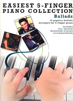 - Easiest 5-Finger Piano Collection - Ballads - Partition - di-arezzo.fr
