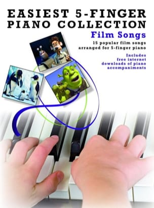 - Easiest 5-Finger Piano Collection - Film Songs - Partition - di-arezzo.fr
