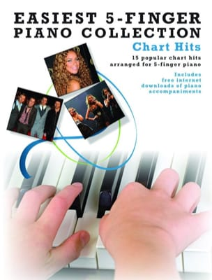 Easiest 5-Finger Piano Collection - Chart Hits - laflutedepan.com
