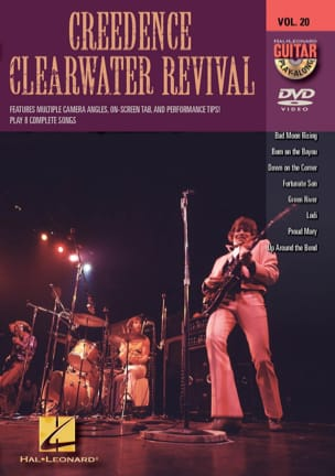 Clearwater Revival Creedence - DVD - Creedence Clearwater Revival Volume 20 - Partition - di-arezzo.fr
