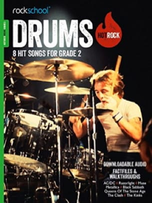 - Hot Rock Drums Grade 2 - Rockschool - Sheet Music - di-arezzo.co.uk