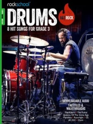 - Hot Rock Rockabool Drums Grade 3 - Sheet Music - di-arezzo.co.uk