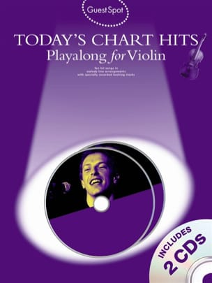 Guest Spot - Today's Chart Hits Playalong For Violin - laflutedepan.com