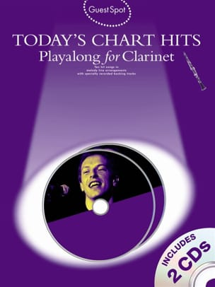 Guest Spot - Today's Chart Hits Playalong For Clarinet - Sheet Music - di-arezzo.co.uk