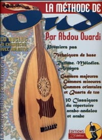 Ouardi Abdou / Rébillard Jean-Jacques - La méthode Oud - Partition - di-arezzo.fr