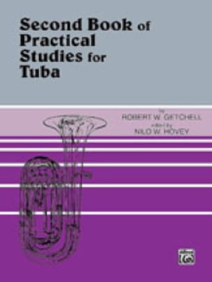Getchell Robert W. / Hovey Nilo W. - Second Book of Practical Studies For Tuba - Sheet Music - di-arezzo.co.uk