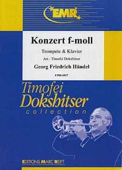 Georg Friedrich Haendel - Konzert In F-Moll - Partition - di-arezzo.fr