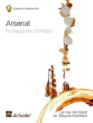 Arsenal Jan van der Roost Partition Saxophone - laflutedepan